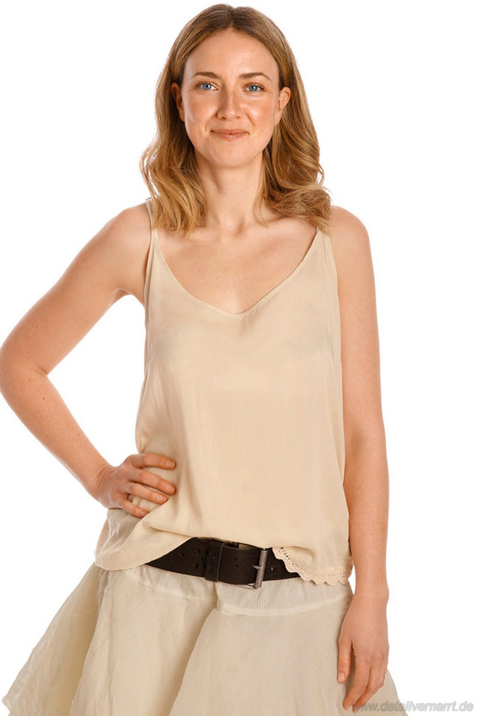 Top 33316 in creme - reine Viskose