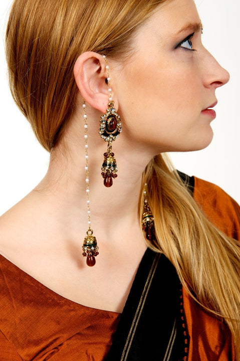 Sarika Hanging Earrings