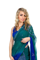 Mermaid Ready-made Sari