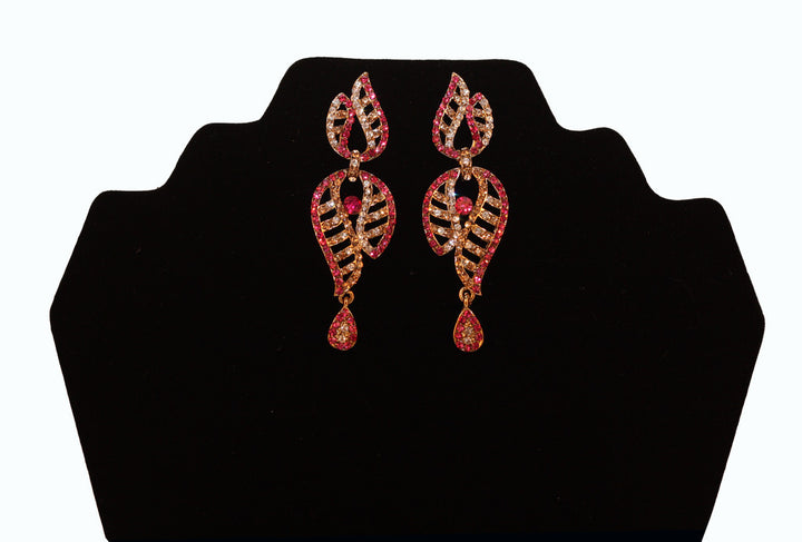 India Pink Earrings