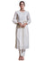 Ritu Kumar Ivory Embroidered Chanderi Kurta with Trouser
