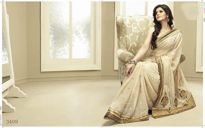 Gold Bridesmaid sari