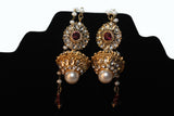 Pearl & Kundan Earrings