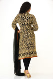 Classy Black Kurti Churidar - Bollywood inspired