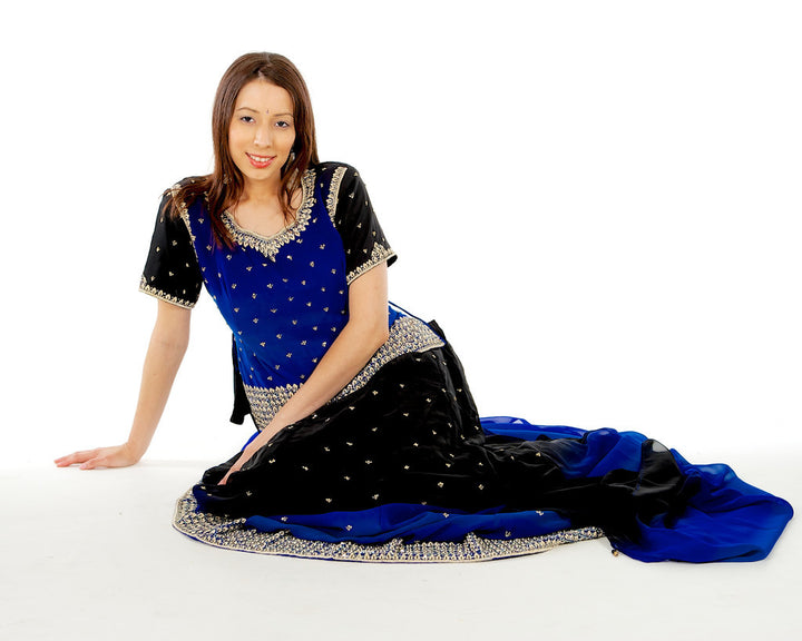 Midnight Skies Lehenga Choli