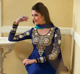 Magnificent Designer Royal Blue Anarkali
