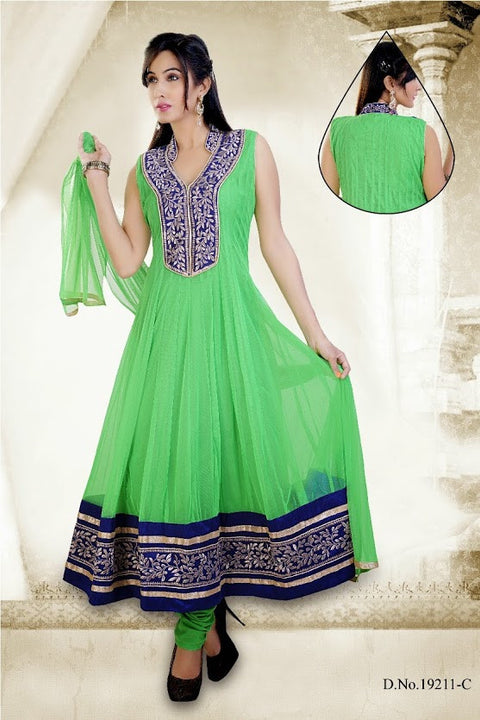 Elegant Ethnic Beautiful Long Anarkali D-19211