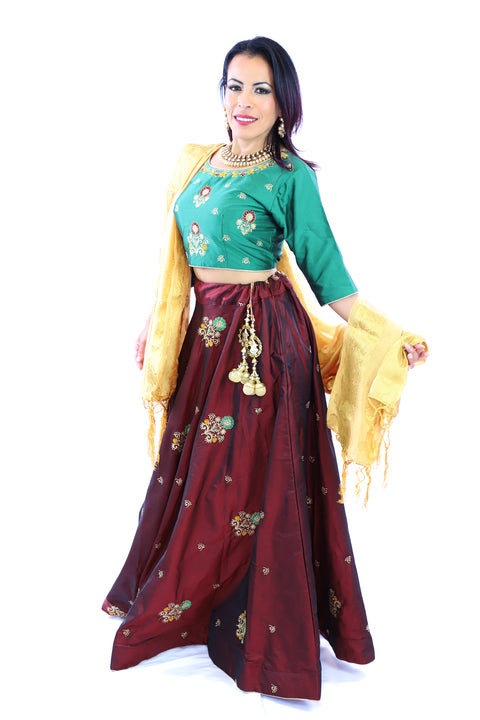 Modern Lehenga Rent or Buy