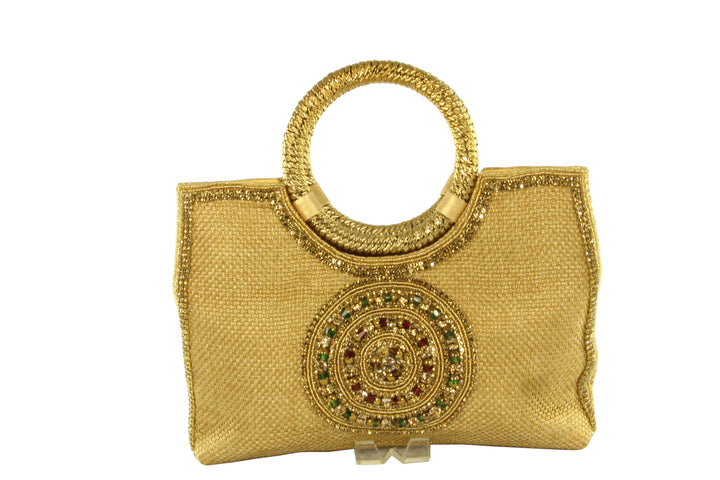 Radiant Medallion Indian Party Purse