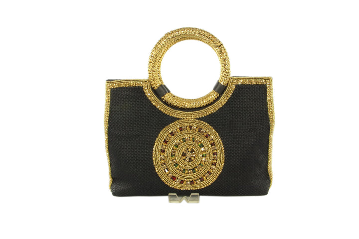 Midnight Medallion Indian Party Purse