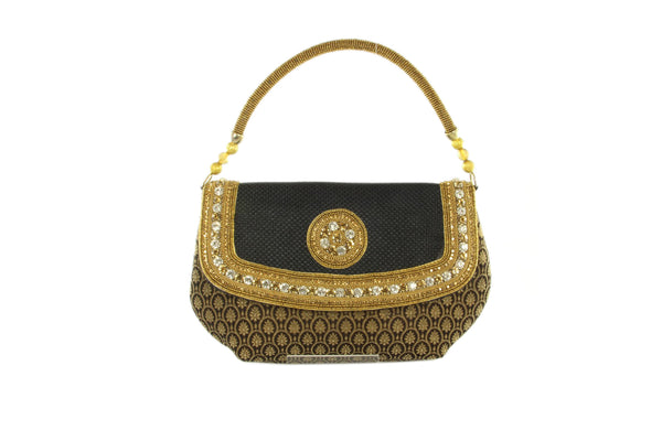 Sophisticated Baguette Style Evening Party Purse