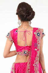 Magnificent Diamond Studded Exclusive Lehenga Choli