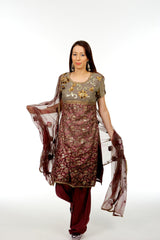 Rich Indian Wedding Salwar Kameez