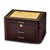 Burgundy Bubinga Wood Veneer w/2 Drawers Jewelry Box