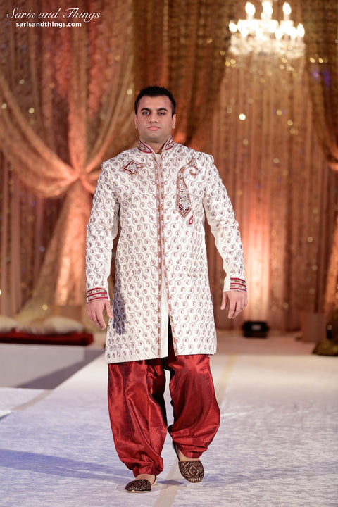 5be03f0f0e Rent Men's Indian Sherwani in Chicago – Saris and Things