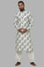 Masaba Gupta Ivory Hibiscus Kurta With Ivory Pants for Men MMW20104