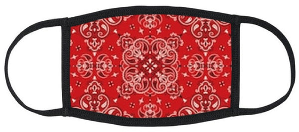 Rangoli Print Reusable Face Mask - Unisex Washable Triple Layer Breathable Cotton Fabric - Limited Supply