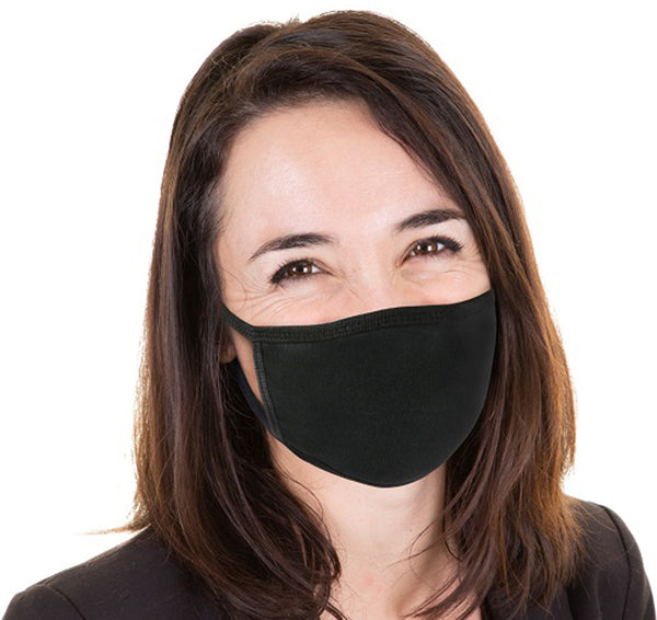 1 Pack Reusable Face Mask - Unisex Washable 2 Layers Breathable Cotton Fabric - Made in USA