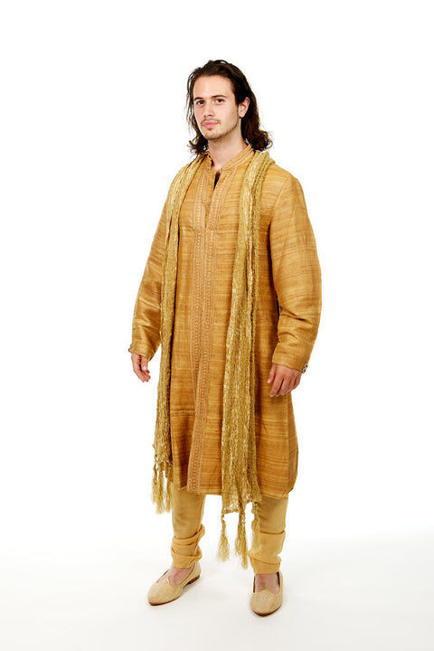 Rich Gold Sherwani (Rent)
