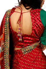 Royal Princess - Rich Red Saree