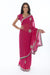 Radiant Raspberry Ready-made Pre-Stitched Sari