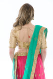 Divine Hot Pink and Teal Lehenga