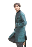 Rama Green Indian Wedding Indo-Western Sherwani for Men BL1048SNT