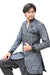 Grey Indian Wedding Indo-Western Sherwani for Men