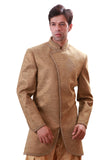 Sand Indian Wedding Indo-Western Sherwani for Men