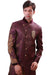 Purple Indian Wedding Indo-Western Sherwani for Men
