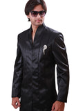 Black Indian Wedding Indo-Western Sherwani for Men