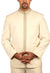 Elegant Cream Traditional Indian Jodhpuri Suit Sherwani For Men