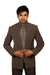 Beautiful 3 Piece Classic Grey Traditional Indian Jodhpuri Suit Sherwani For Men