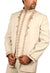 Majestic 3 Piece Cream Traditional Indian Jodhpuri Suit Sherwani For Men