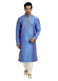 Dark Blue Kurta Pajama for Men