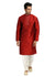 Maroon Kurta Pajama Sherwani - Indian Ethnic Wear for Men