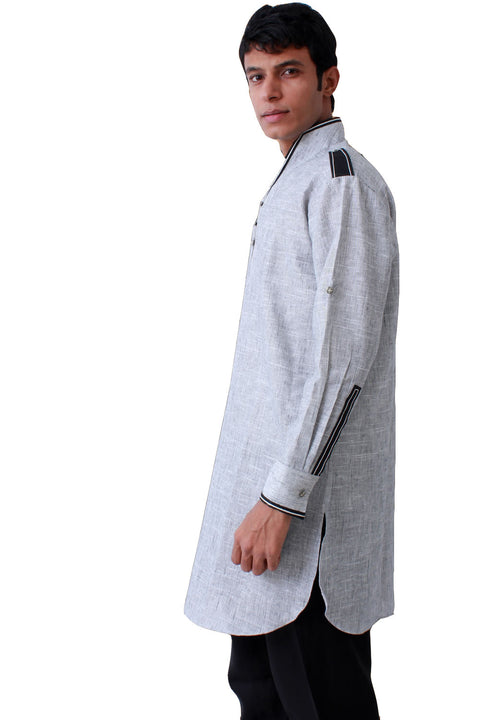 Elegant Linen Kurta Set for Men