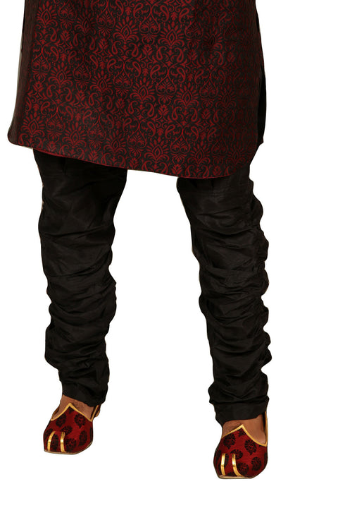Stylish Maroon Silk Kurta for Men