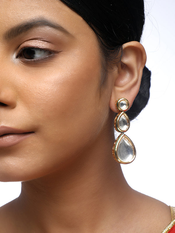 Kundan Earrings - MRR166