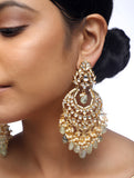 Kundan Earrings - MRR172