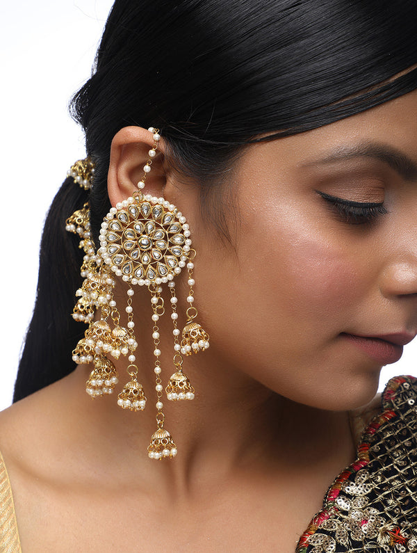 Kundan Earrings - MRR190