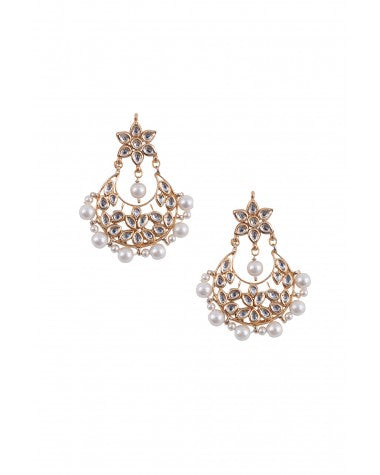 Kundan Earrings - MRR215
