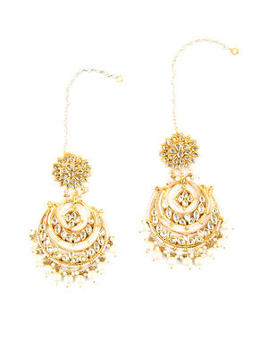 Kundan Earrings - MRR216