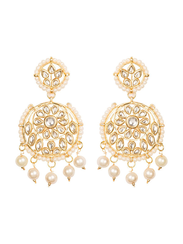 Kundan Earrings - MRR222