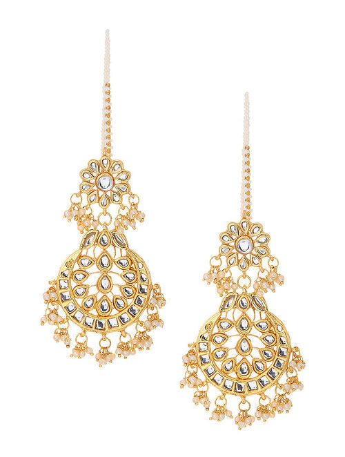 Kundan Earrings - MRR257
