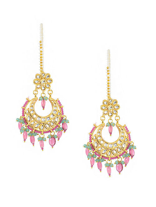 Kundan Earrings - MRR260