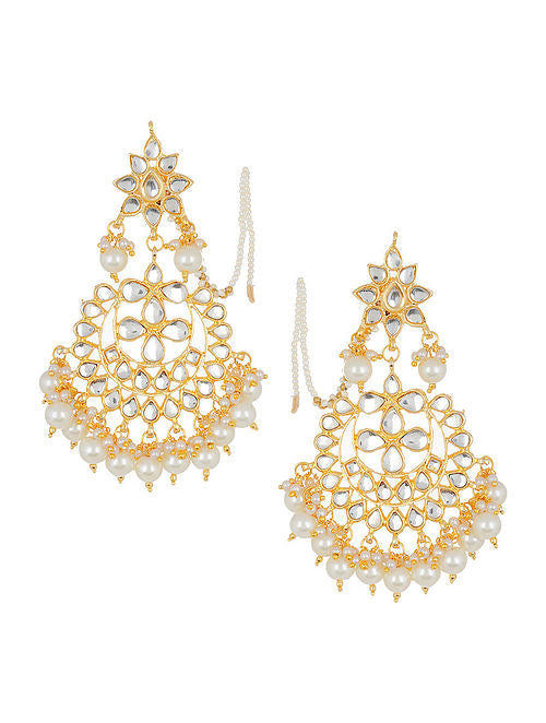 Kundan Earrings - MRR263