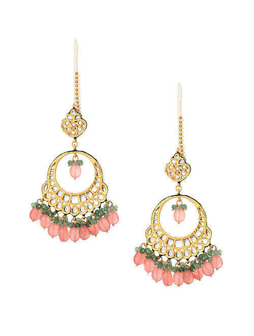 Kundan Earrings - MRR266