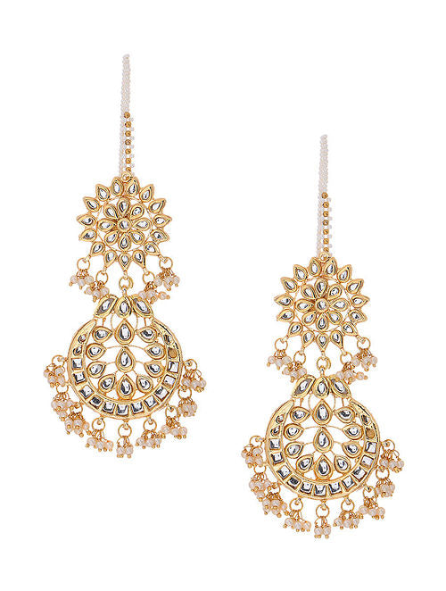 Kundan Earrings - MRR272