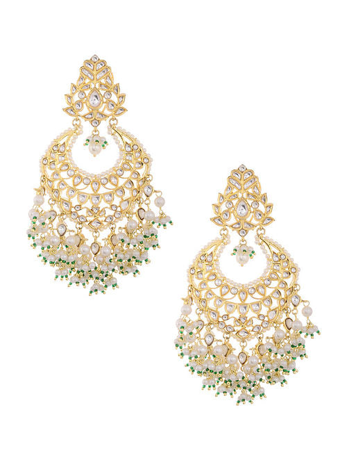 Kundan Earrings - MRR273